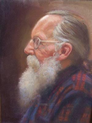 John The Grey Beard Original by Dave Holman