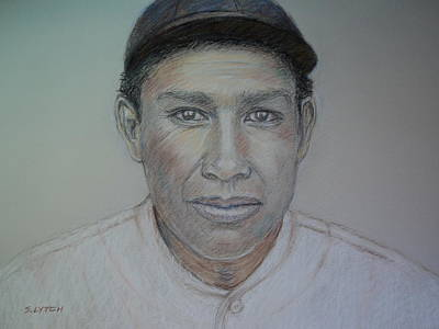 Drawing - John Tortes Chief Meyers by Sandra Lytch