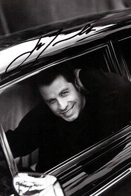 Pulp Fiction Digital Art - John Travolta by Studio Photo