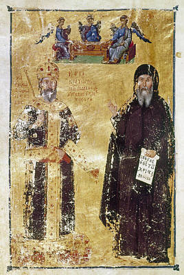 Byzantine Painting - John Vi Cantacuzenus (1292-1383) by Granger