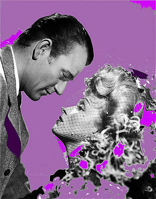 Animal Portraits Royalty Free Images - John Wayne and Marlene  Dietrich publicity photo The Spoilers 1942 Royalty-Free Image by David Lee Guss