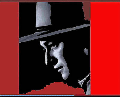 Art Print featuring the photograph John Wayne As The Ringo Kid Stagecoach 1939-2013 by David Lee Guss