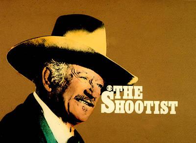 John Wayne The Shootist Art Print