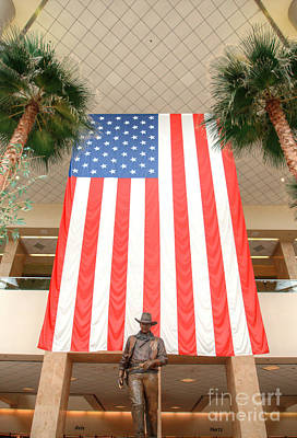 Photograph - John Wayne Tribute At Santa Ana Airport 3 by Deborah Smolinske