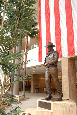 Photograph - John Wayne Tribute At Santa Ana Airport 4 by Deborah Smolinske