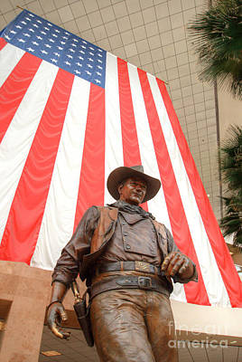 Photograph - John Wayne Tribute At Santa Ana Airport 5 by Deborah Smolinske