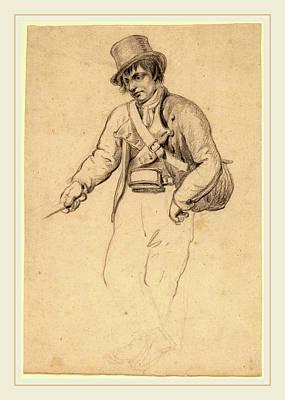 Wesley Jarvis Drawing - John Wesley Jarvis, Irish Fisherman, American by Litz Collection