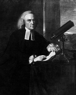 Harvard Painting - John Winthrop (1714-1779) by Granger