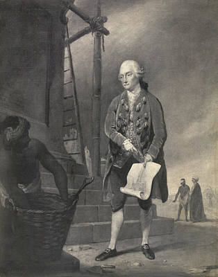 Portaits Photograph - John Zephaniah Holwell by British Library
