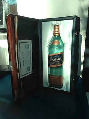 Photograph - Johnnie Walker - Blue Label by Richard Reeve