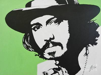 Painting - Johnny Depp by Juan Molina