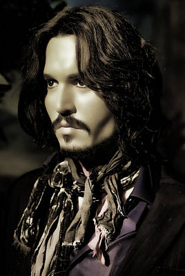 Photograph - Johnny Depp by Lee Dos Santos