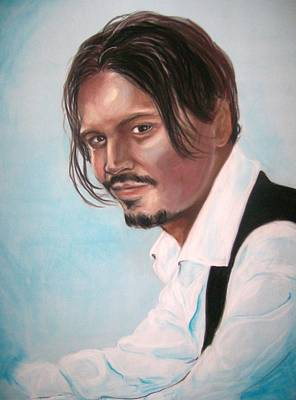 Pastel - Johnny Depp by Martha Suhocke