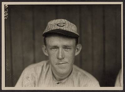 Photograph - Johnny Evers Of Chicago Cubs by Historic Photos