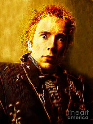 Johnny Rotten Digital Art - Johnny by Paul Green