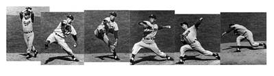 Johnny Podres, American Mlb Player Art Print by Photo Researchers