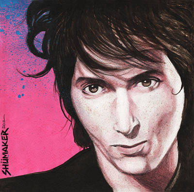Prison Painting - Johnny Thunders by David Shumate