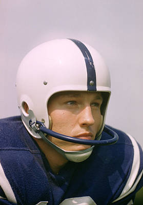 Football Photograph - Johnny Unitas  by Retro Images Archive