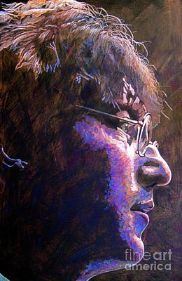 John Lennon Wall Art - Painting - Johnny We Miss You by David Lloyd Glover