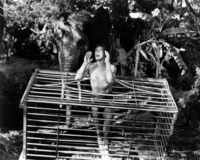 Amazon Wall Art - Photograph - Johnny Weissmuller In Tarzan And The Amazons  by Silver Screen