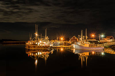 Photograph - John's Cove Reflections by Garvin Hunter