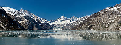 Johns Hopkins Glacier In Glacier Bay Art Print