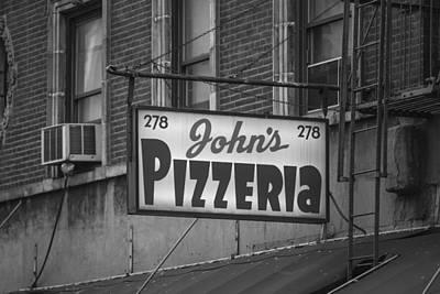 John's Pizzeria In Nyc Art Print