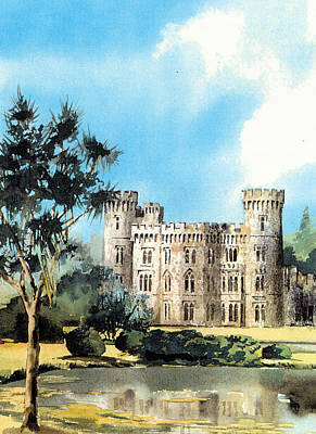 Wexford Johnstown Castle Print by Val Byrne