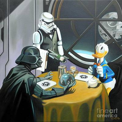 Join The Dark Side Donald Original by Michael Loeb