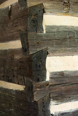 Photograph - Joinery by Sally Simon