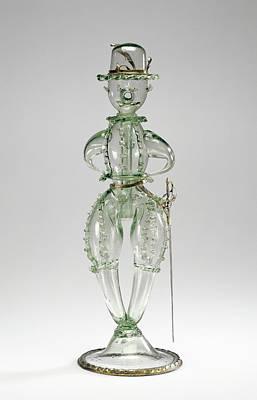 Joke Drawing - Joke Glass Scherzgefäss Unknown Germany by Litz Collection