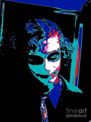 Joker 14 Art Print by Alys Caviness-Gober