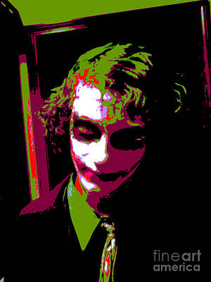 Icons Mixed Media - Joker 7 by Alys Caviness-Gober