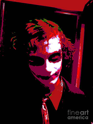 Icons Digital Art - Joker 9 by Alys Caviness-Gober