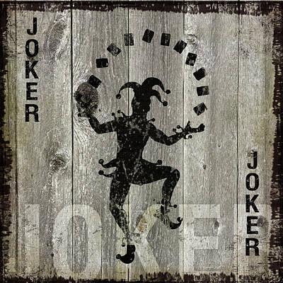 Man Cave Painting - Joker by Jennifer Pugh