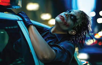Heath Ledger Digital Art - Joker by Veronika Limonov