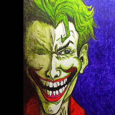 Comics Wall Art - Photograph - Joker by Vickie Scarlett-Fisher