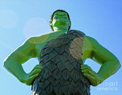 Jolly Green Giant - 02 Art Print