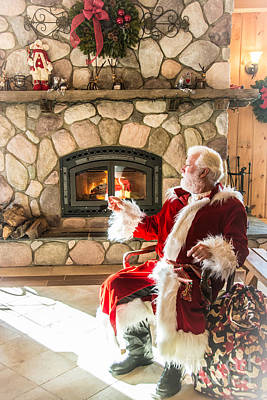 Photograph - Jolly Old St. Nicholas by Cheryl Baxter