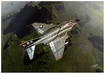 Iraq Digital Art - Jolly Rogers Phantom by Peter Van Stigt