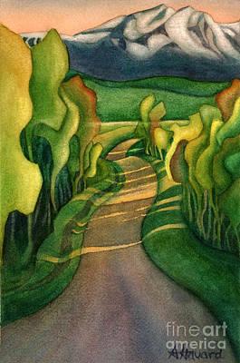 Jollymore Road Art Print