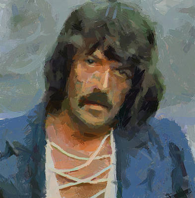 Digital Art - Jon Lord Deep Purple 2 by Yury Malkov