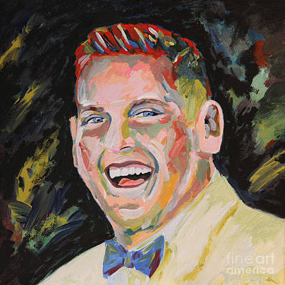 Saturday Night Live Painting - Jonah Hill Portrait by Robert Yaeger