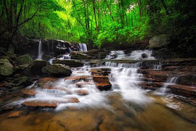 Photograph - Jonathan Run Falls  by Emmanuel Panagiotakis