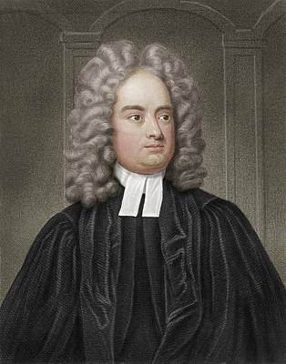 18th Century Photograph - Jonathan Swift by Maria Platt-evans