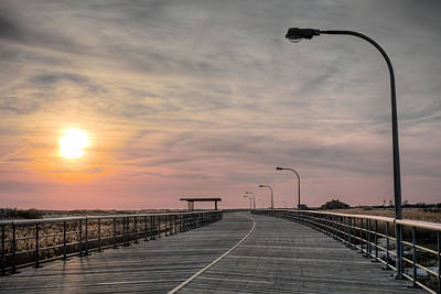 Photograph - Jones Beach Boardwalk by JC Findley