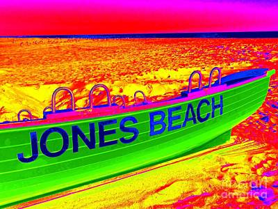 Photograph - Jones Beach by Ed Weidman
