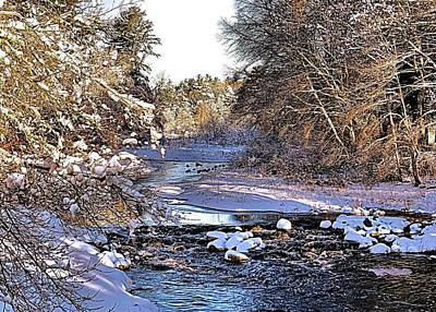 Photograph - Jones River Kingston Ma by Janice Drew