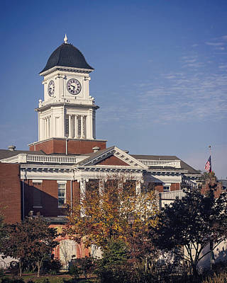 Photograph - Jonesborough Courthouse by Heather Applegate