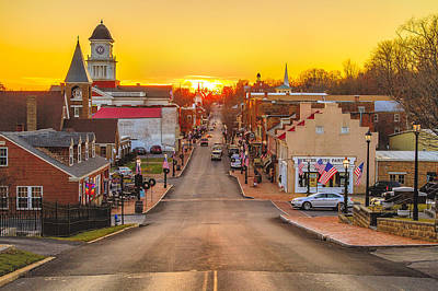 Photograph - Jonesborough Sunset by Jay Huron